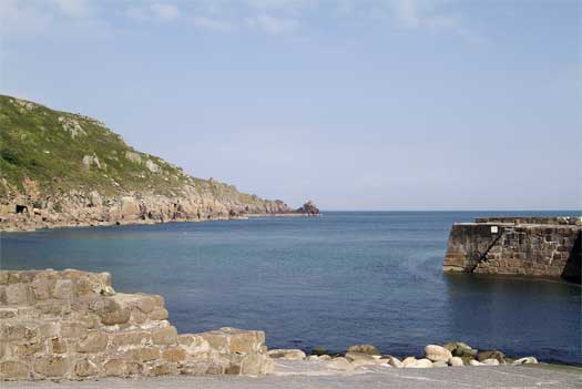 Lamorna Cove is a short walk away
